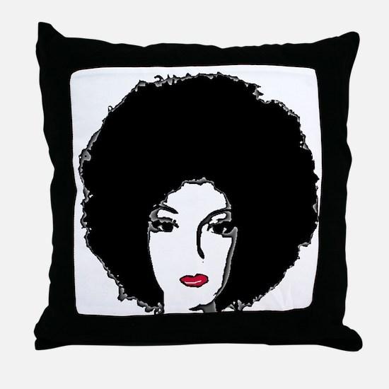 Riyah-Li Designs Foxy Lady Throw Pillow