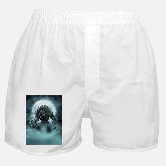 Werewolf's Full Moon Boxer Shorts