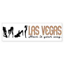Sexy Las Vegas Bumper Bumper Sticker