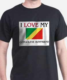I Love My Congolese Boyfriend T-Shirt