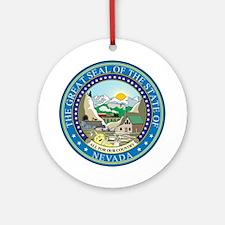 NEVADA-SEAL Ornament (Round)