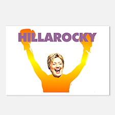 Hillarocky Postcards (Package of 8)