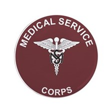 MEDICAL-SERVICE-CORPS 3.5 Button