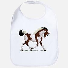 Bay Tobiano Pinto Horse Bib