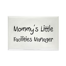 Mommy's Little Facilities Manager Rectangle Magnet