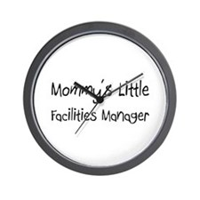 Mommy's Little Facilities Manager Wall Clock