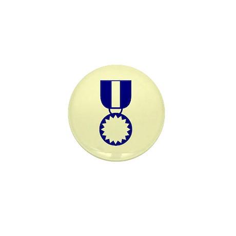 Blue Ribbon Medal Mini Button (10 pack)