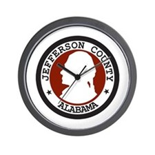 JEFFERSON-COUNTY-SEAL Wall Clock
