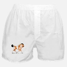 Buckskin Tobiano Gypsy Horse Boxer Shorts