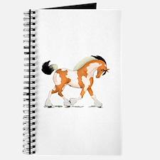 Buckskin Tobiano Gypsy Horse Journal