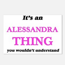 It's an Alessandra th Postcards (Package of 8)