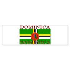 Dominica Bumper Bumper Sticker