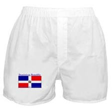 Dominican Republic Flag Boxer Shorts