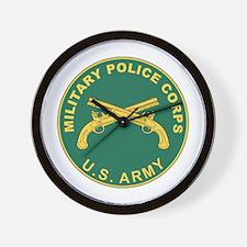 MILITARY-POLICE Wall Clock