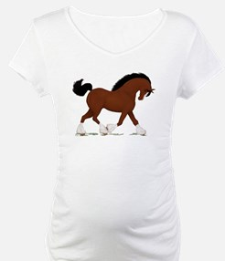 Bay Clydesdale Horse Shirt
