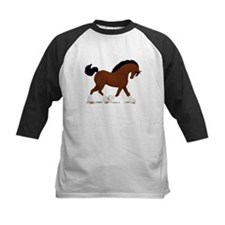 Bay Clydesdale Horse Tee