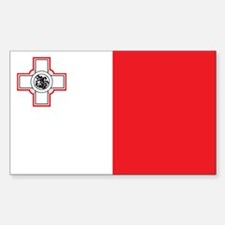 MALTA Rectangle Decal