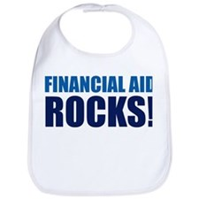 Financial Aid Rocks! Bib
