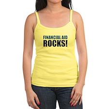 Financial Aid Rocks! Ladies Top