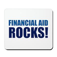 Financial Aid Rocks! Mousepad