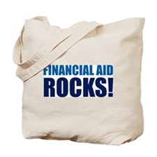 Financial Aid Rocks! Tote Bag