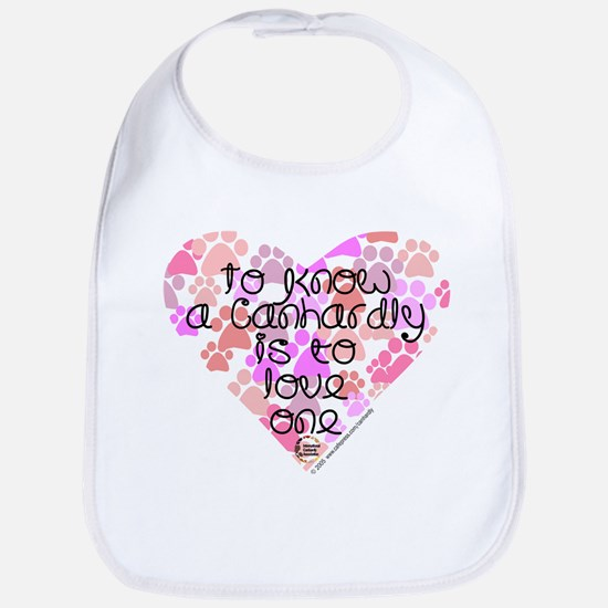 Know, love Canhardly Bib