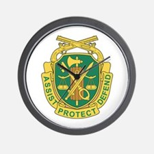 MILITARY-POLICE-CORPS Wall Clock