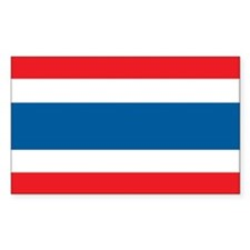 THAILAND Rectangle Decal