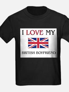 I Love My British Boyfriend T