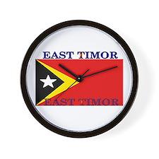 East Timor Wall Clock