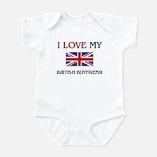I Love My British Boyfriend Infant Bodysuit