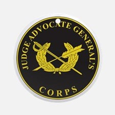 JUDGE-ADVOCATE-GENERAL Ornament (Round)