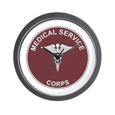 3-MEDICAL-SERVICE-CORPS Wall Clock