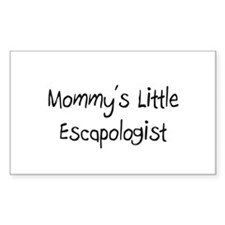 Mommy's Little Escapologist Rectangle Decal