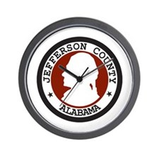 3-JEFFERSON-COUNTY-SEAL Wall Clock
