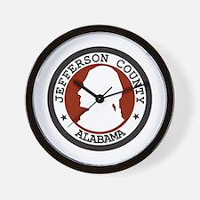3-JEFFERSON-COUNTY-SEAL Wall Clock