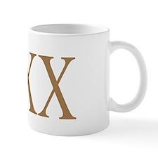 420 Roman Numerals BN Mug
