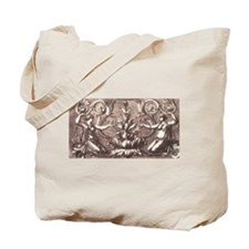 Rococo Baroque Gals Tote Bag