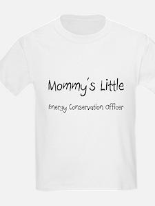 Mommy's Little Energy Conservation Officer T-Shirt