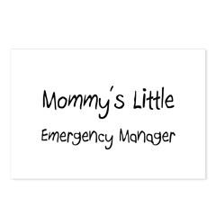 Mommy's Little Emergency Manager Postcards (Packag