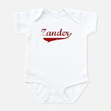 Zander (red vintage) Infant Bodysuit