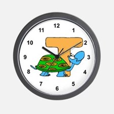 T is for Turtle Wall Clock