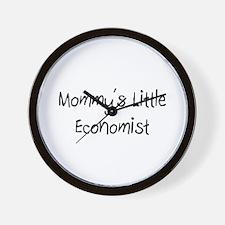 Mommy's Little Economist Wall Clock