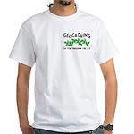 Poison Ivy Pocket Image White T-Shirt