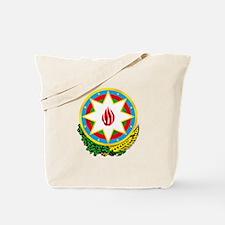 Emblem Of Azerbaijan Tote Bag