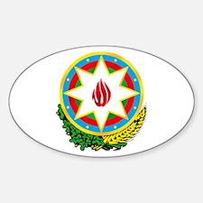 Emblem of Azerbaijan Oval Decal