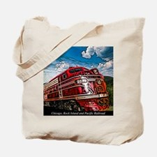 Chicago, Rock Island and Pacific Railroad Tote Bag