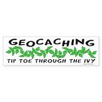 Poison Ivy Bumper Sticker (10 pk)