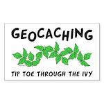 Poison Ivy Rectangle Sticker 10 pk)