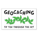 Poison Ivy Rectangle Sticker